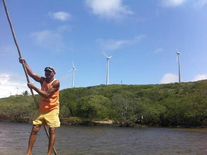 Praia do Sagi, divisa do RN e a Paraíba. Foto: Karla Larissa