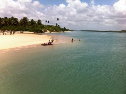 Ilha da Restinga, Barra do Cunhaú. Foto: Karla Larissa