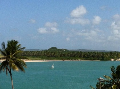 Barra do Cunhaú, vista do Restaurante Bela Vista. Foto: Karla Larissa