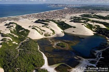 Lagoa de Genipabú. Foto: Canindé Soares