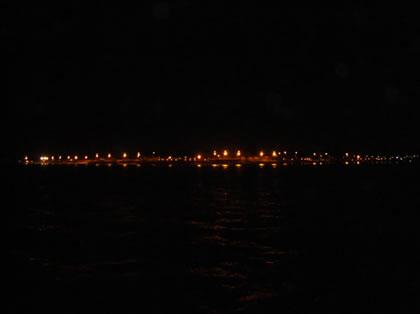 Vista de Icoaraci, às margens do Rio Guajará, às 4:30h da manhã