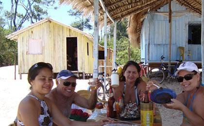 Elizângela, Lúcio, Ruth e Ana Maria