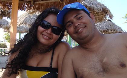 Elizângela e Rogério