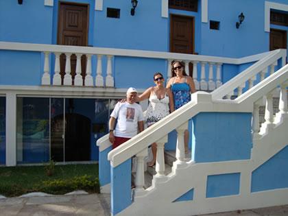 Lúcio, Rosangela e Ana Maria (novamente juntos...rsrsrs)