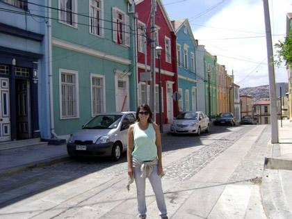 Casas tombadas como patrimônio histórico em Valparaíso
