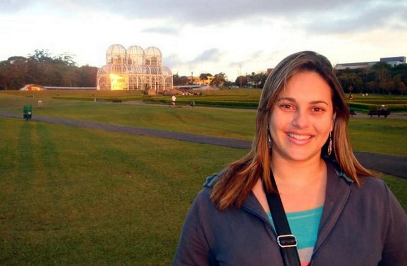Amanda Faia no Jardim Botânico