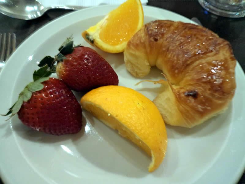 As medialunas não podiam faltar no meu café da manhã!