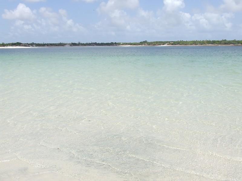 O paraíso potiguar de águas cristalinas. Foto: Karla Larissa