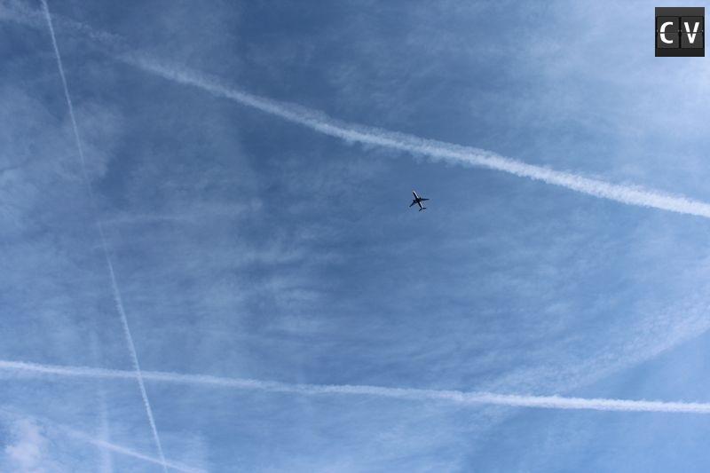 Céu azul em Londres, coisa rara de se ver