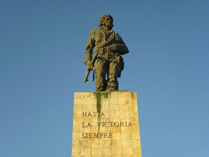 Estátua de Che Guevara, em Santa Clara