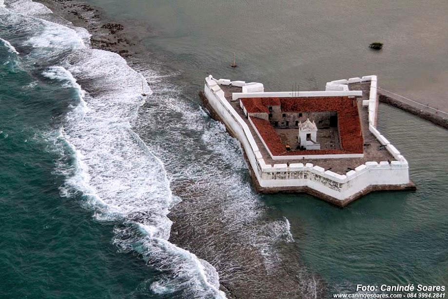 Forte dos Reis Magos. Foto cedida por Canindé Soares