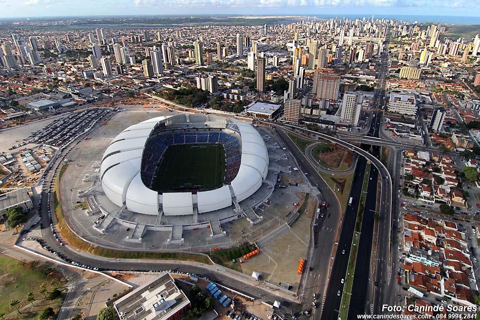 Arena das Dunas. Foto: Canindé Soares