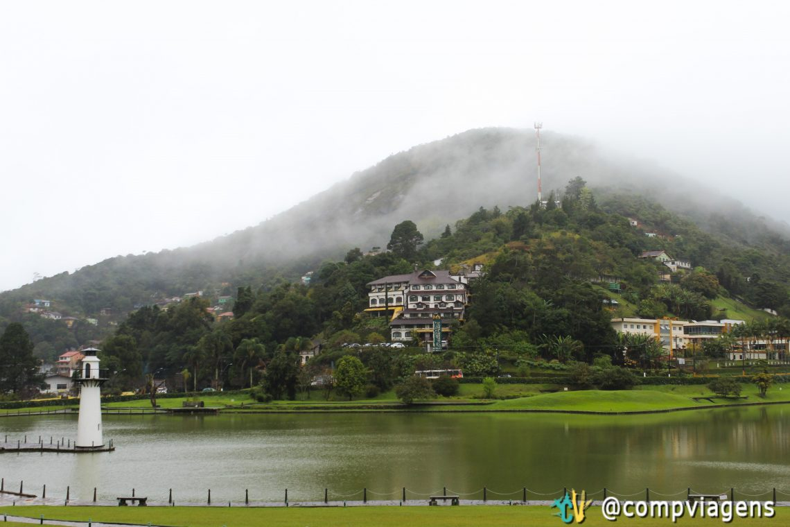 Lago do Palácio Quitandinha, Petrópolis