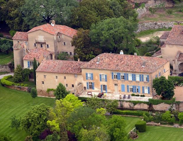 Château Miraval, local escolhido pelo casal Pitt para casar. (Foto: AFP/ Agência)