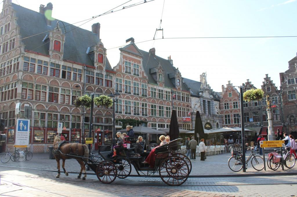 Centro histórico de Gante