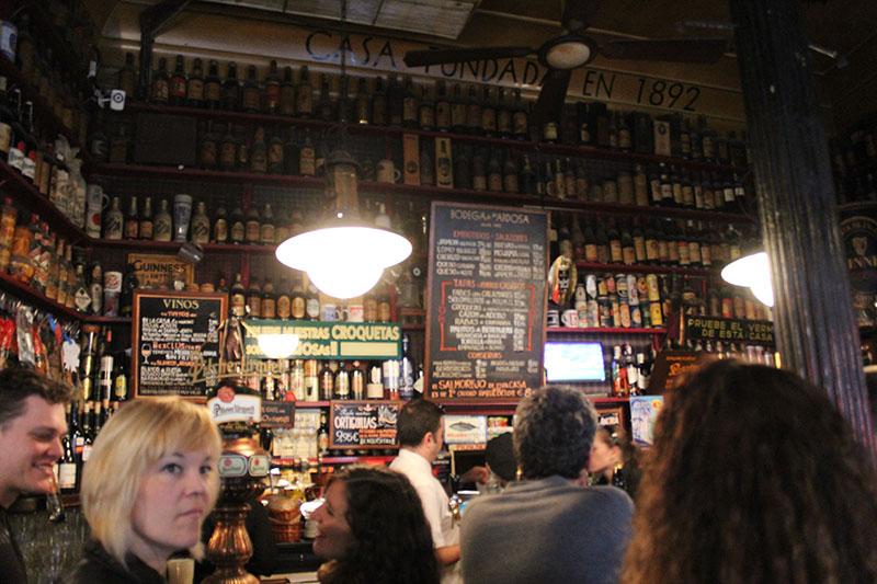 Bodega la Ardosa em Madri