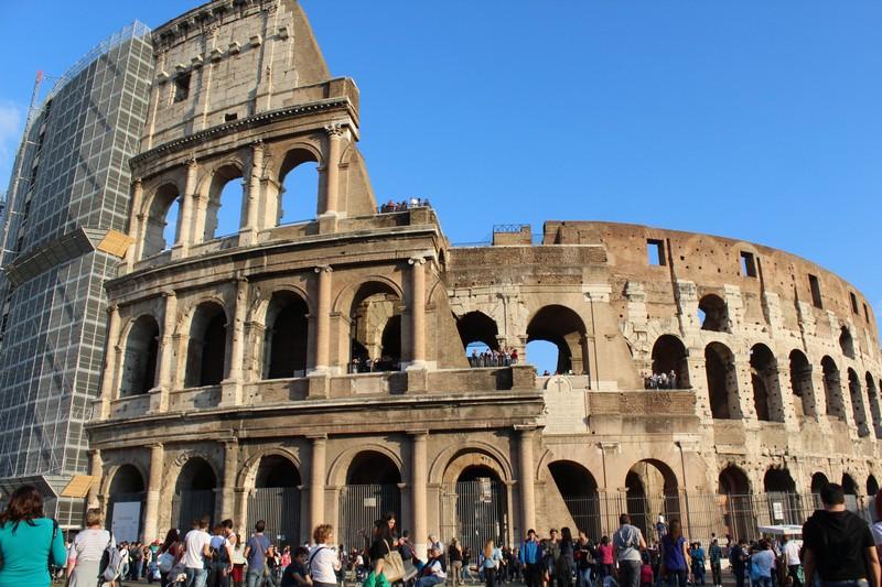 Coliseu, símbolo de Roma
