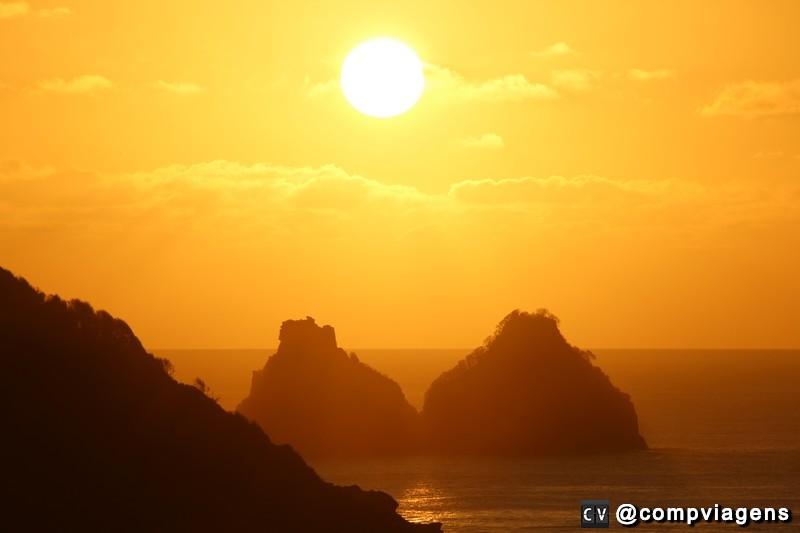 Pôr do Sol visto do Forte dos Remédios