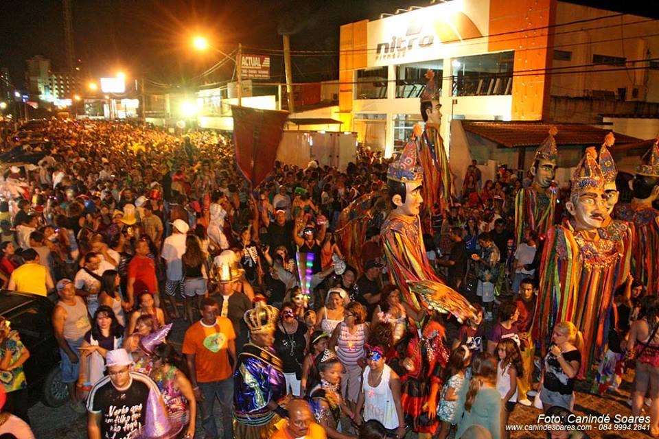 Bloco de rua em Natal. Foto: Canindé Soares