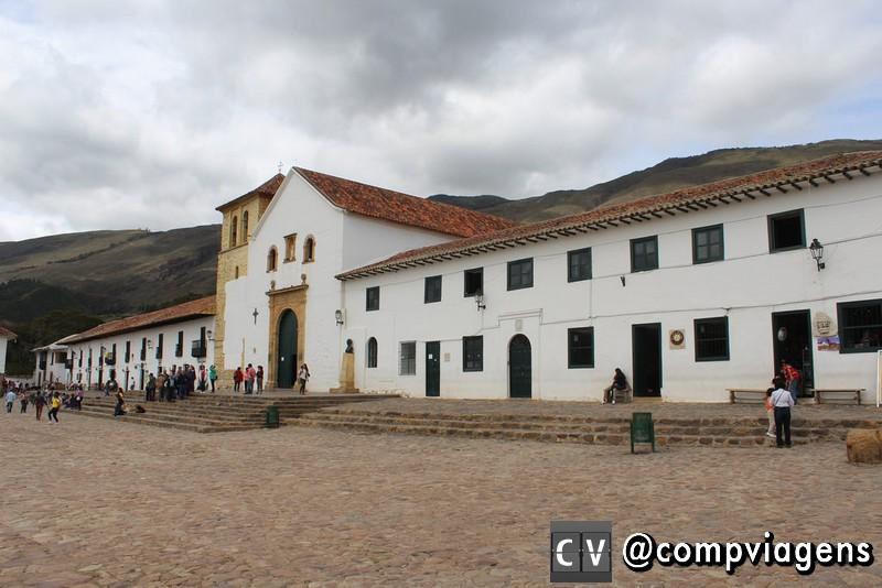Igreja principal de Villa de Leyva