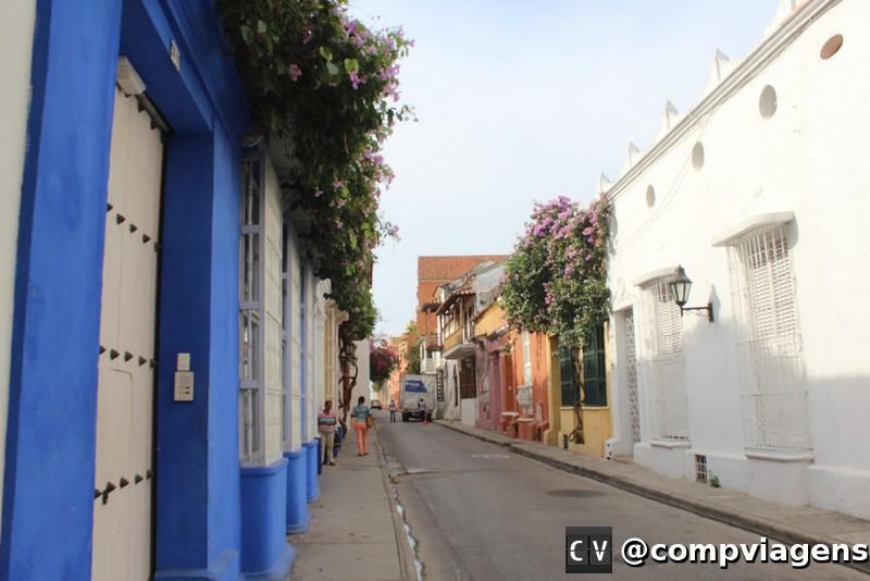 Cores e flores de Cartagena
