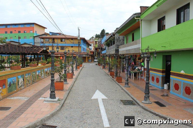 Rua de Guatapé