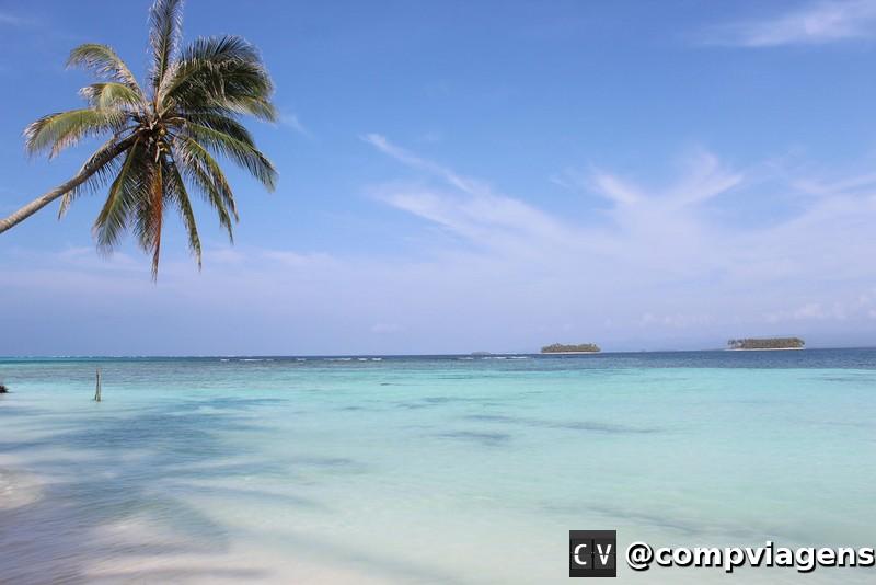 O arquipélago de San Blás tem 365 ilhas