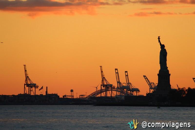 Pôr do Sol do Battery Park
