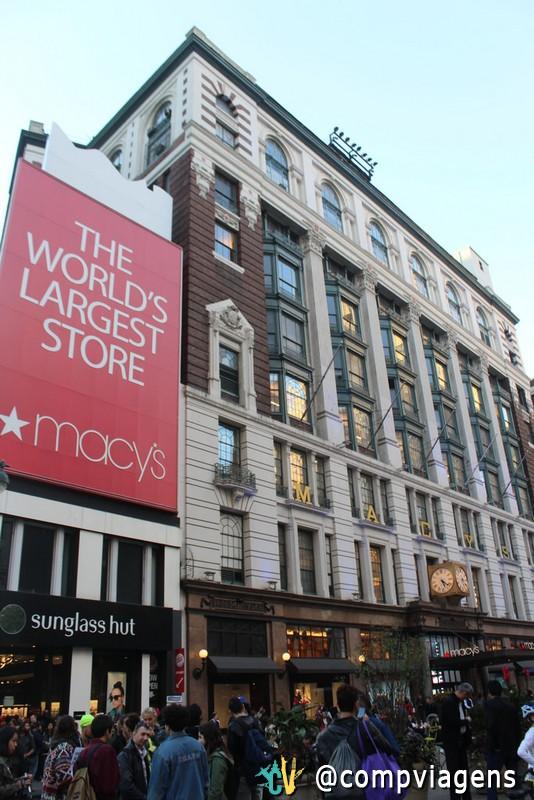 A gigantesca loja da Macy´s