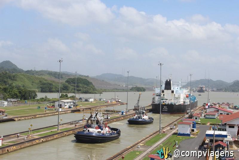 Canal do Panamá - Centro de Miraflores