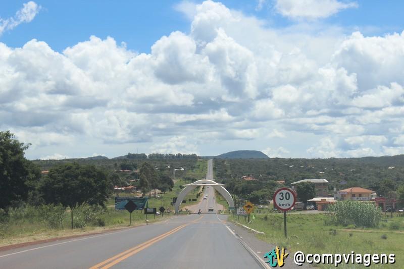 Entrada Alto Paraíso de Goiás