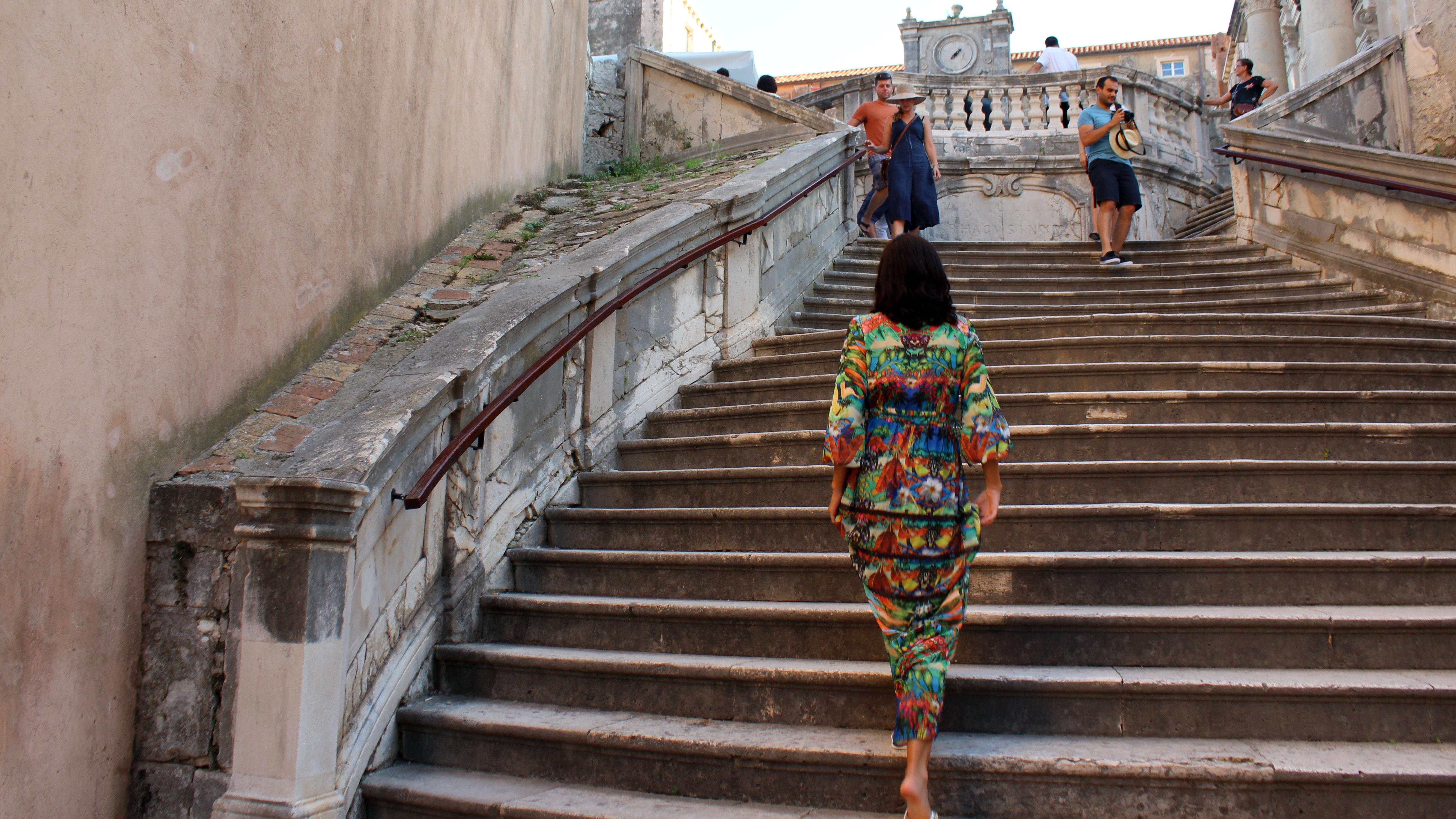 Escadas para o Grande Septo de Baelor