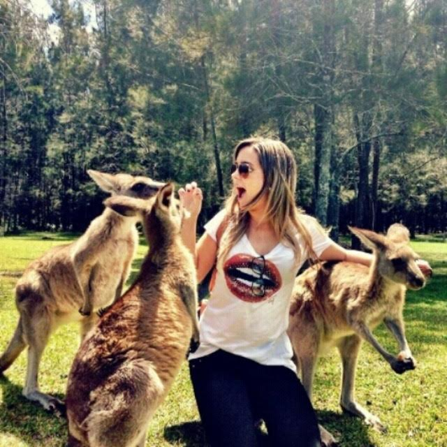 Polyana Moura vive na Austrália há quase 3 anos