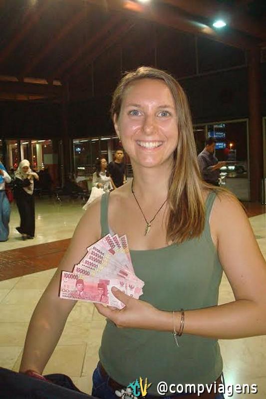 Me tornei uma milionária em Bali