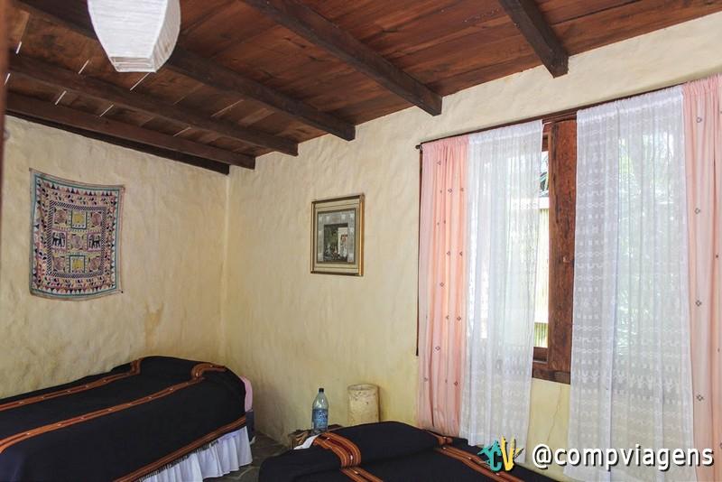 Nosso quarto no Eco-Hotel La Paz