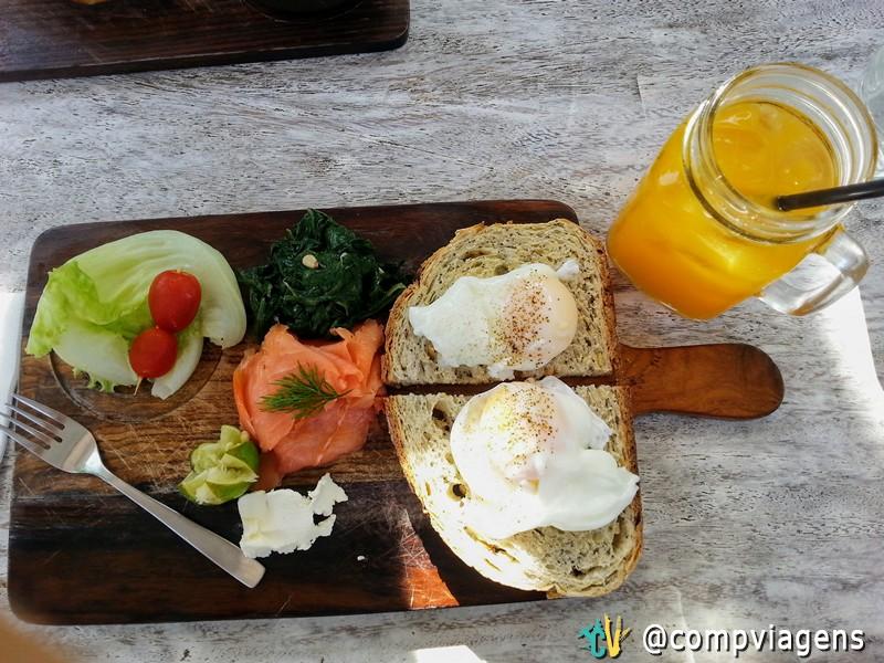Café da manhã no Monsieur Spoon Ubud
