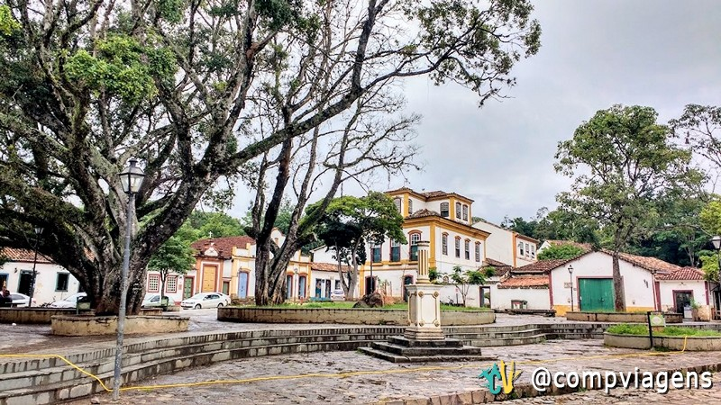 Largo das Forras, em Tiradentes