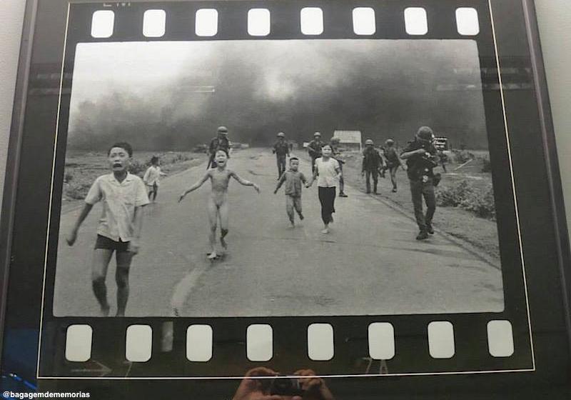Uma das fotos mais emblemáticas da Guerra do Vietnã