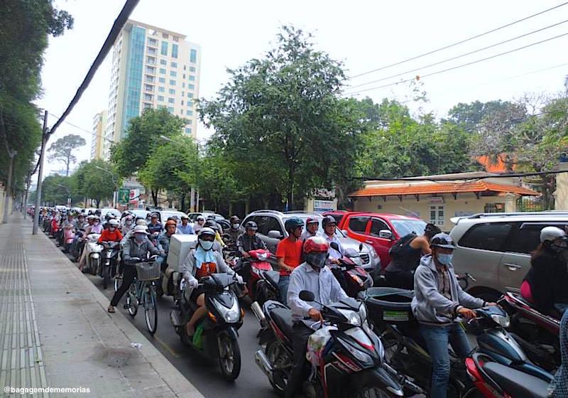 Trânsito em Ho Chi Minh City