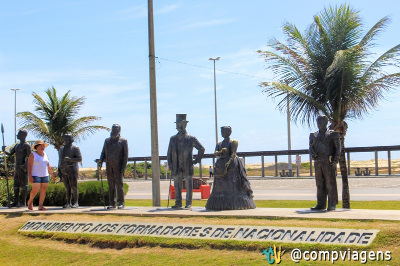 Monumento dos Fomadores de Nacionalidade, Orla de Atalaia