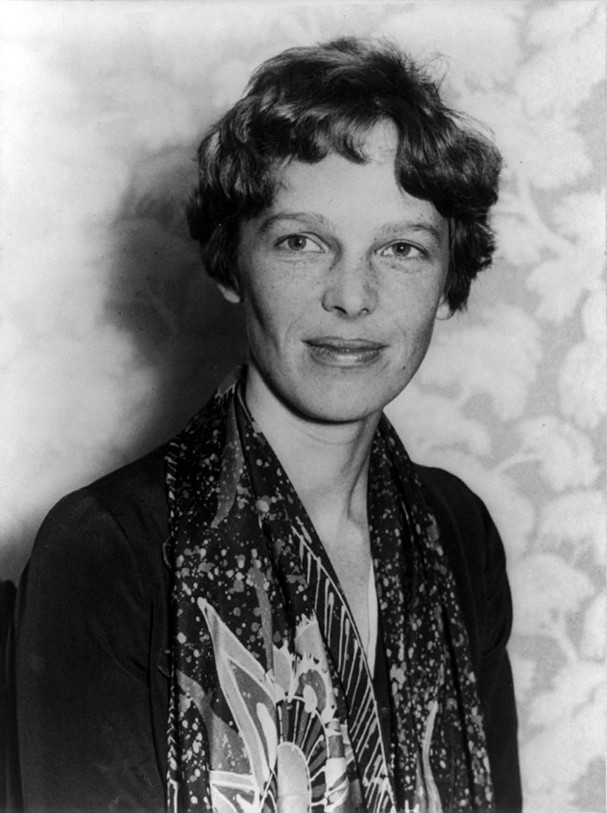 Amelia Earhart. Foto: commons.wikimedia.org