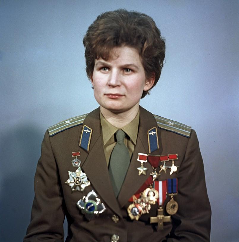 Valentina Tereshkova. Foto: commons.wikimedia.org