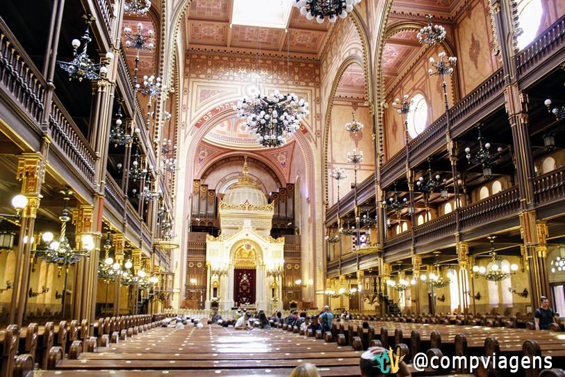 Interior da Grande Sinagoga