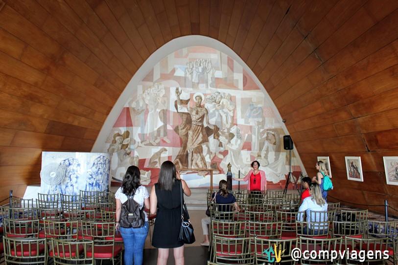 Interior da Igreja de São Francisco de Assis