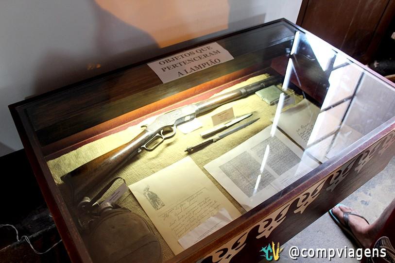 Objetos de Lampião, no Museu do Sertão