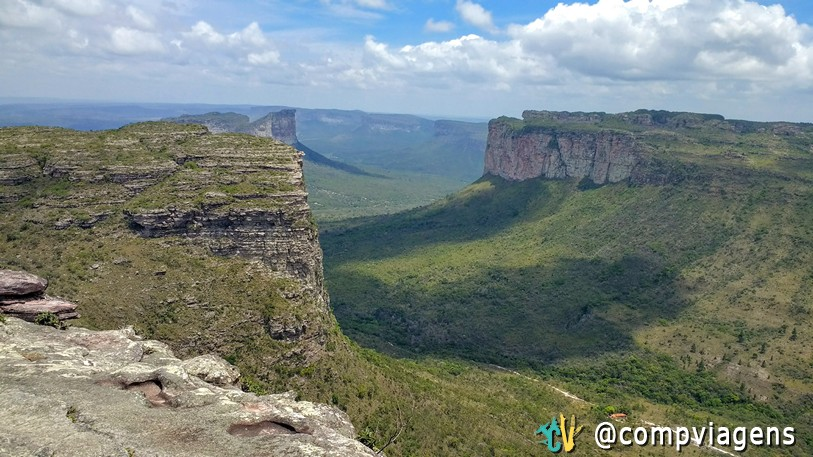 Vista do Morro do Pai Inácio, Chapada Diamantina