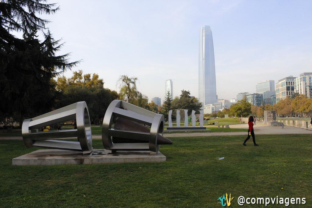Parque de Las Esculturas, Santiago