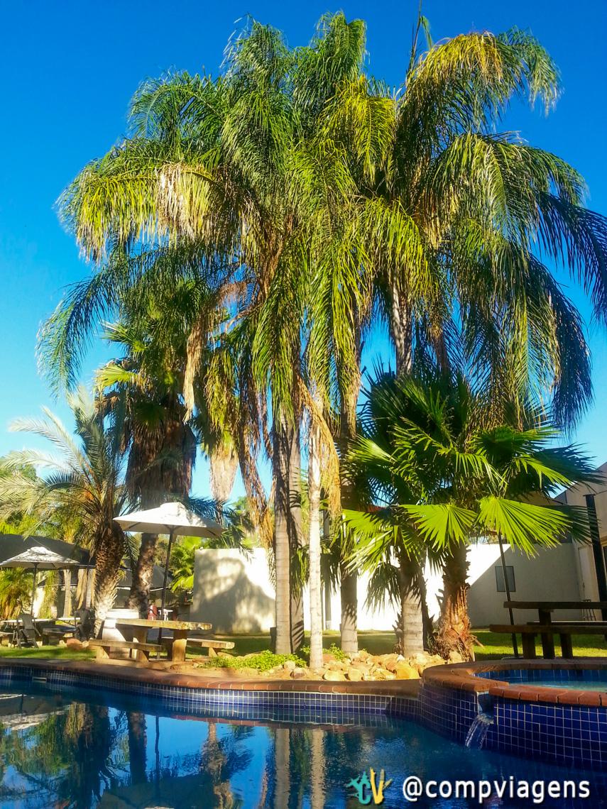 Piscina relaxante em Alice Springs
