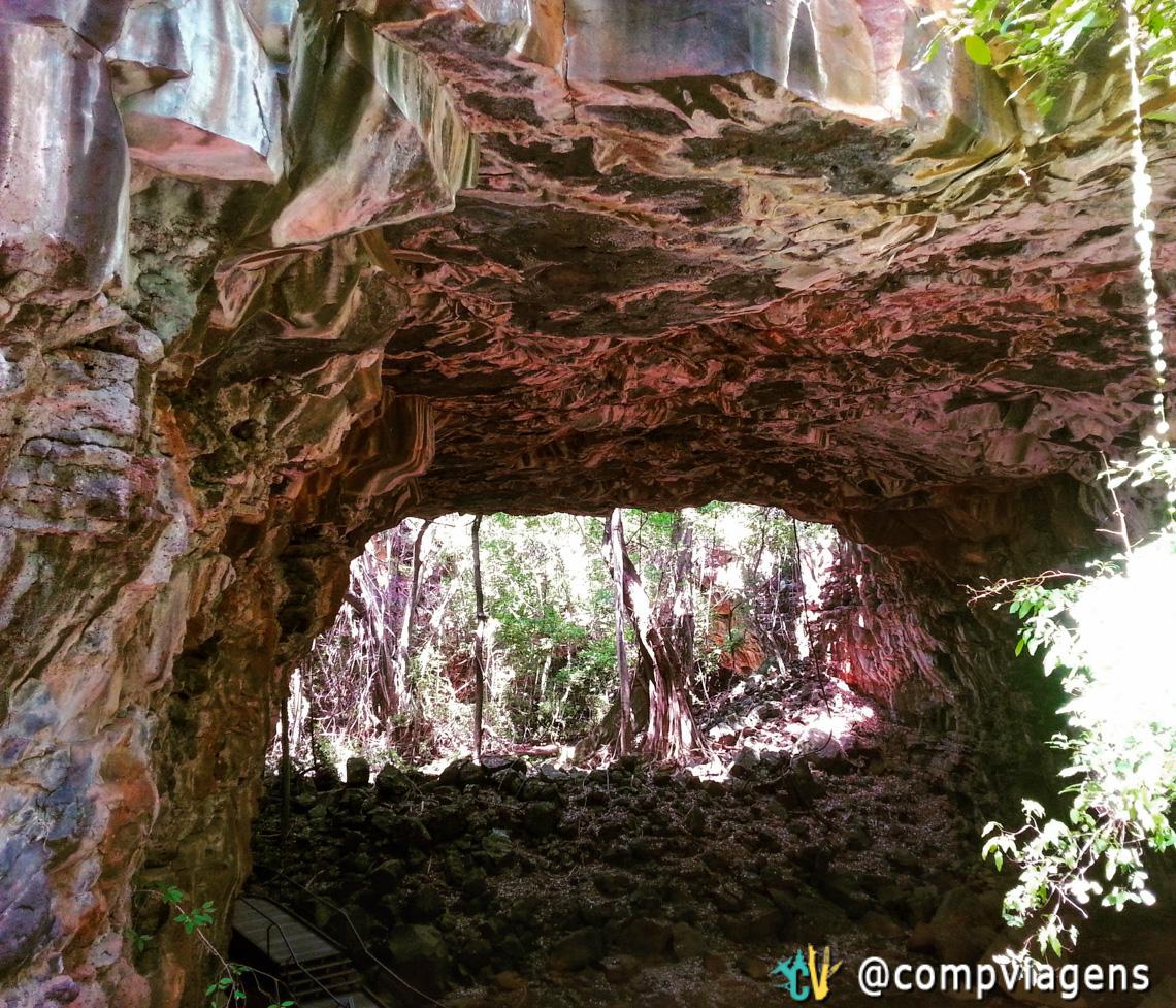 Undara Experience Tour: Arco de Lava tube