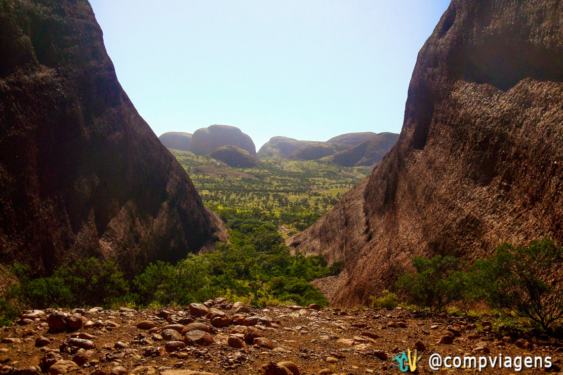 Trilha do Valley of the Winds